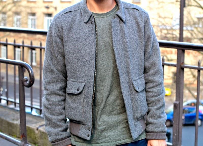 comment porter un blouson en laine dans un look workwear homme