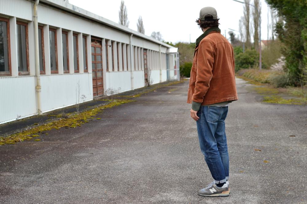 Étonnant Look homme - Une tenue style street heritage simple et accessible XJ-15