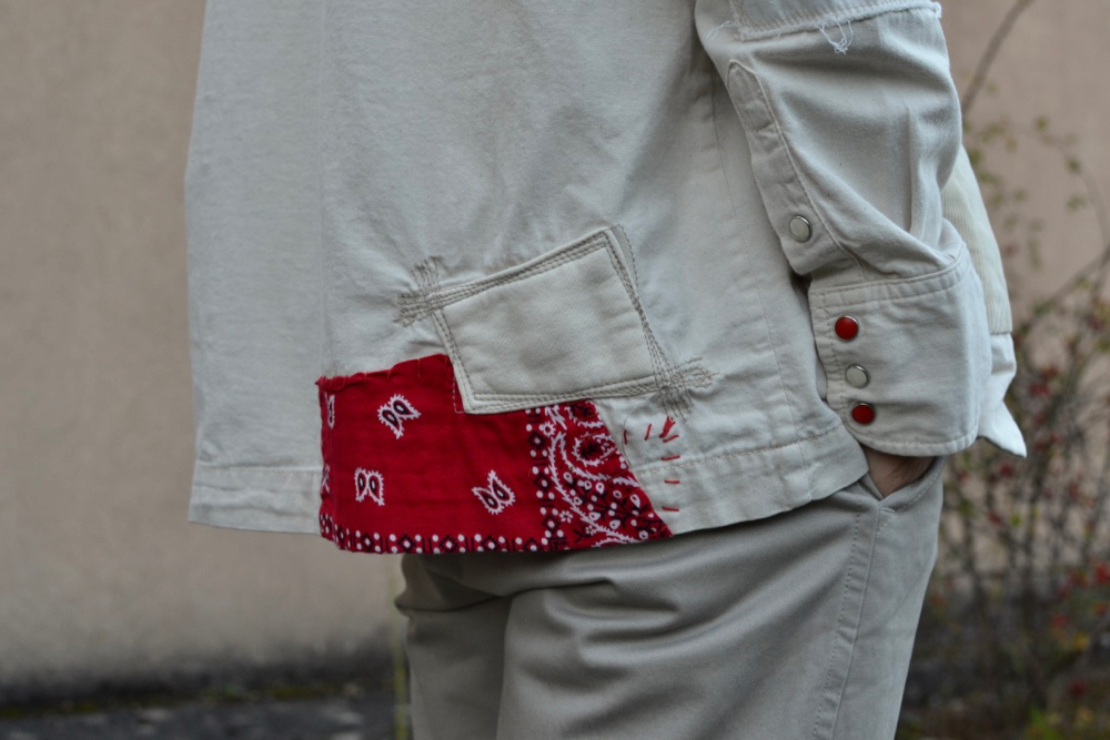 Soulive Bluxe et sa Hoari western shirt façon noragi