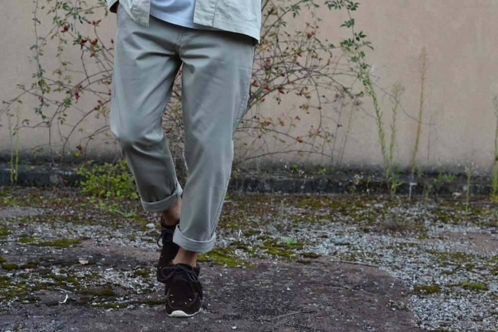 Dockers slim tapered chinos tan