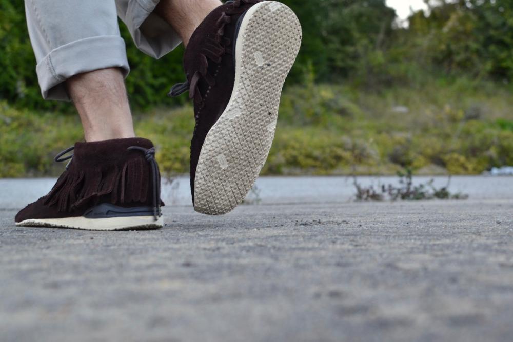 Visvim FBT Bear Foot Shaman Folk dark brown V10001002-02