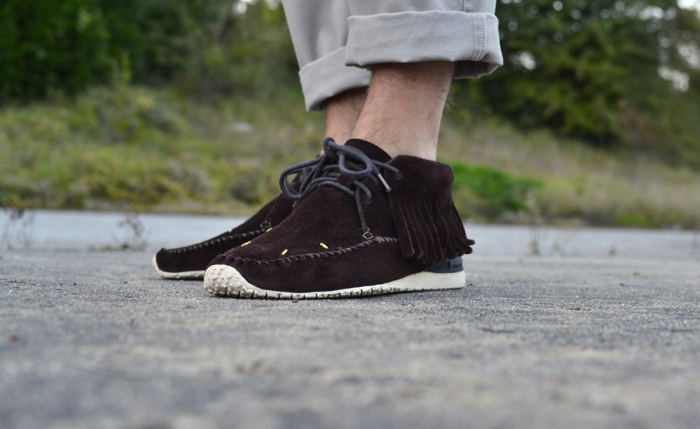Visvim FBT Bear Foot Shaman Folk dark brown V10001002-02