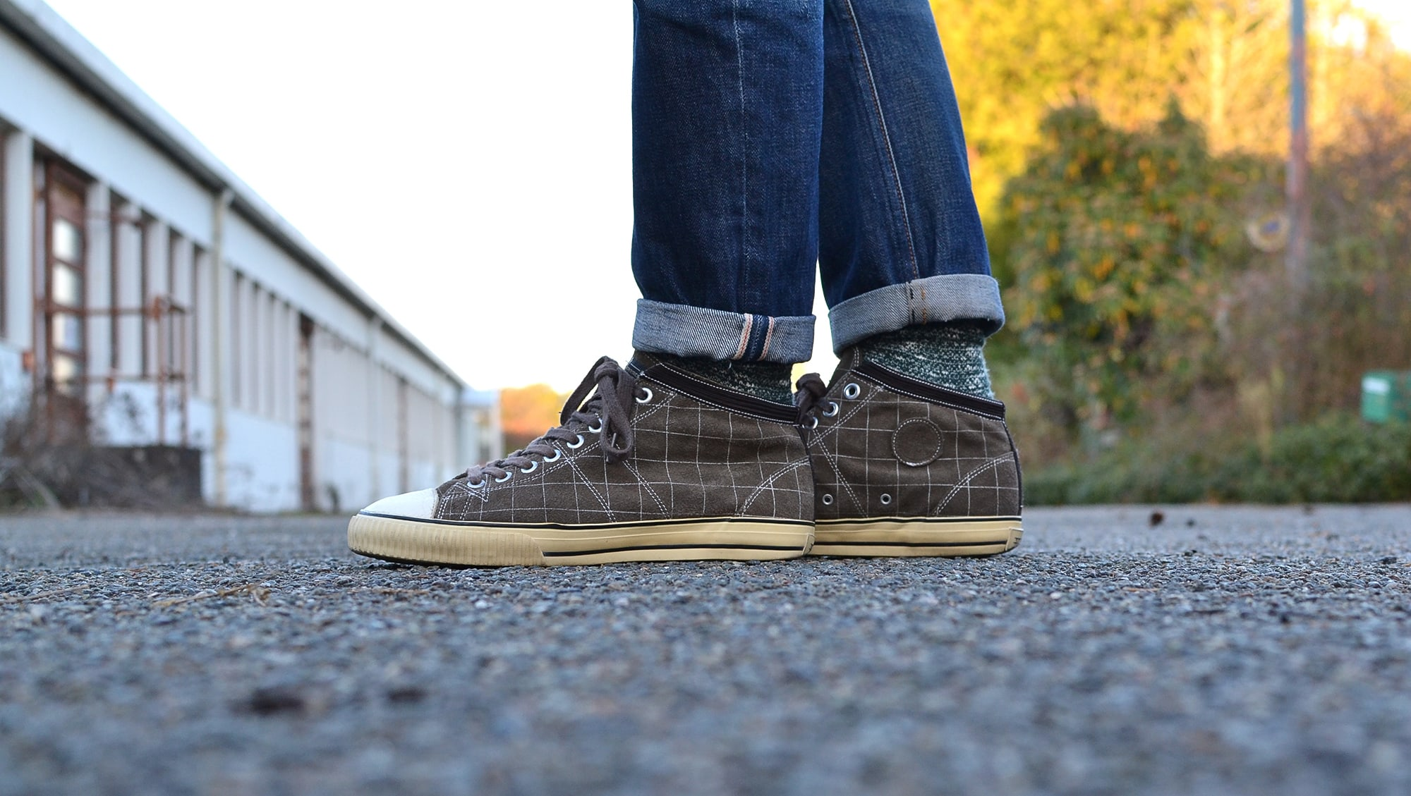Visvim kiefer sneakers with the collaboration of Jpanaese label AFFA