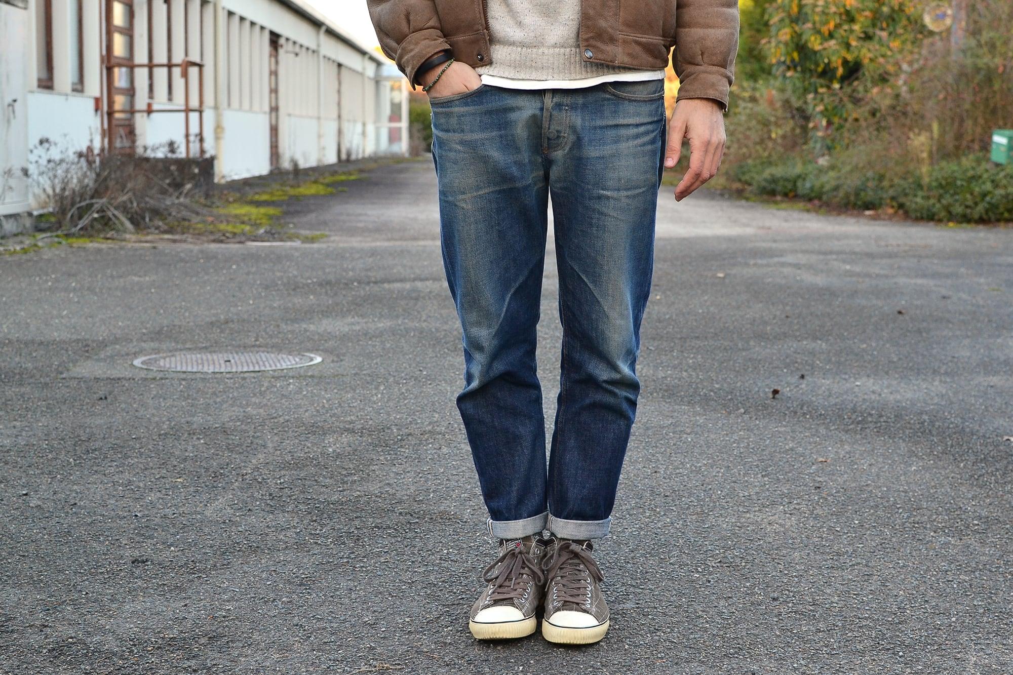 comment porter un jeans tapered pour homme
