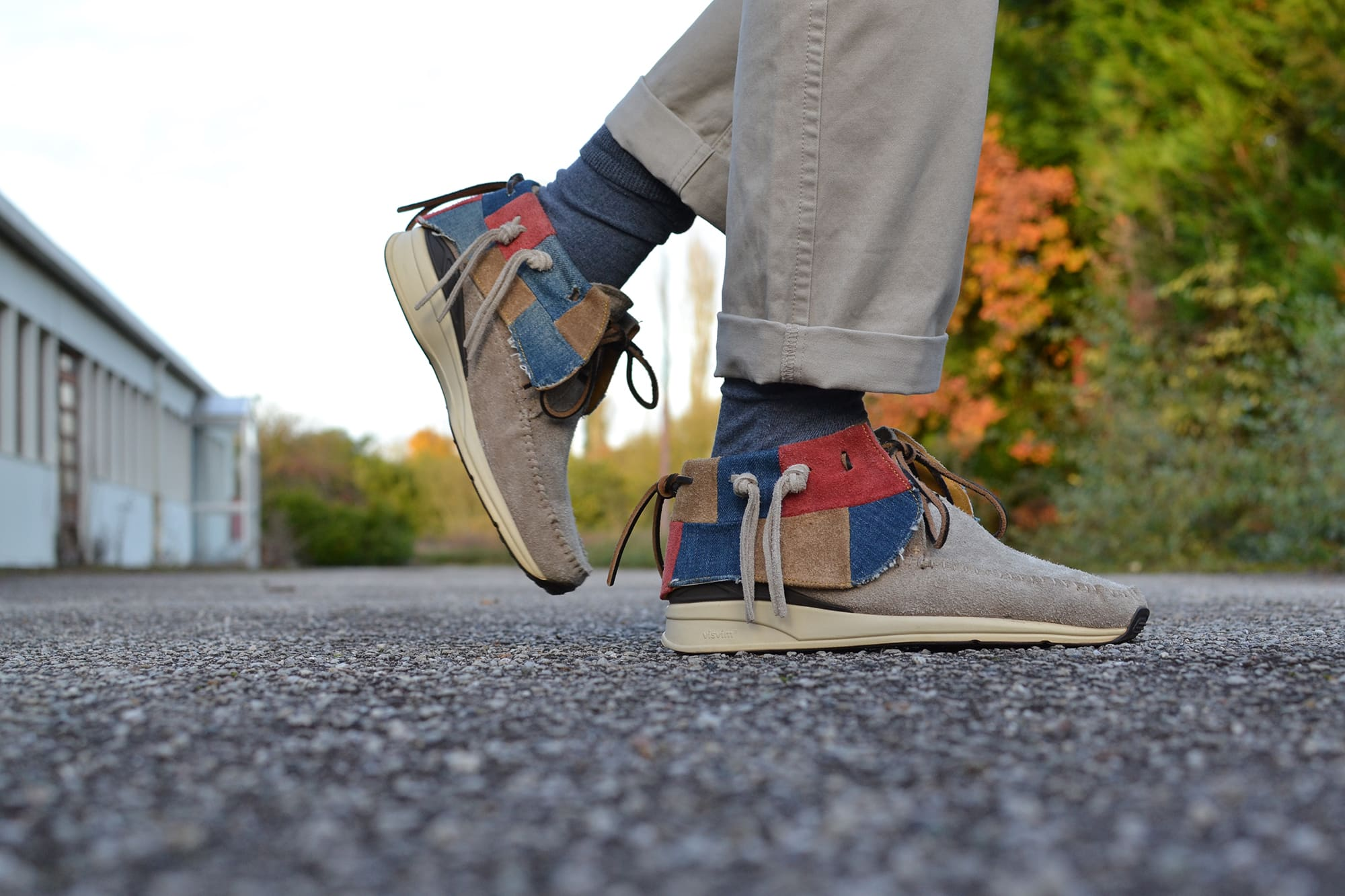 Visvim FBT seminole and patchwork