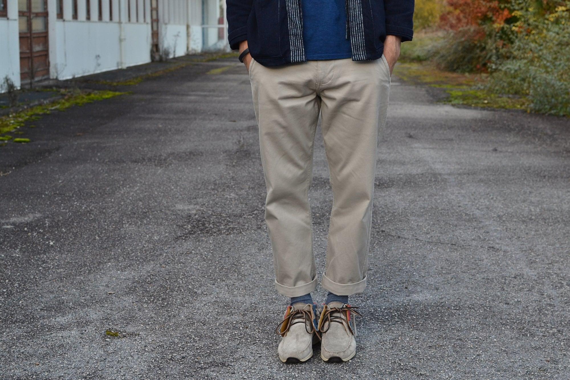 comment porter un pantalon clair / blanc