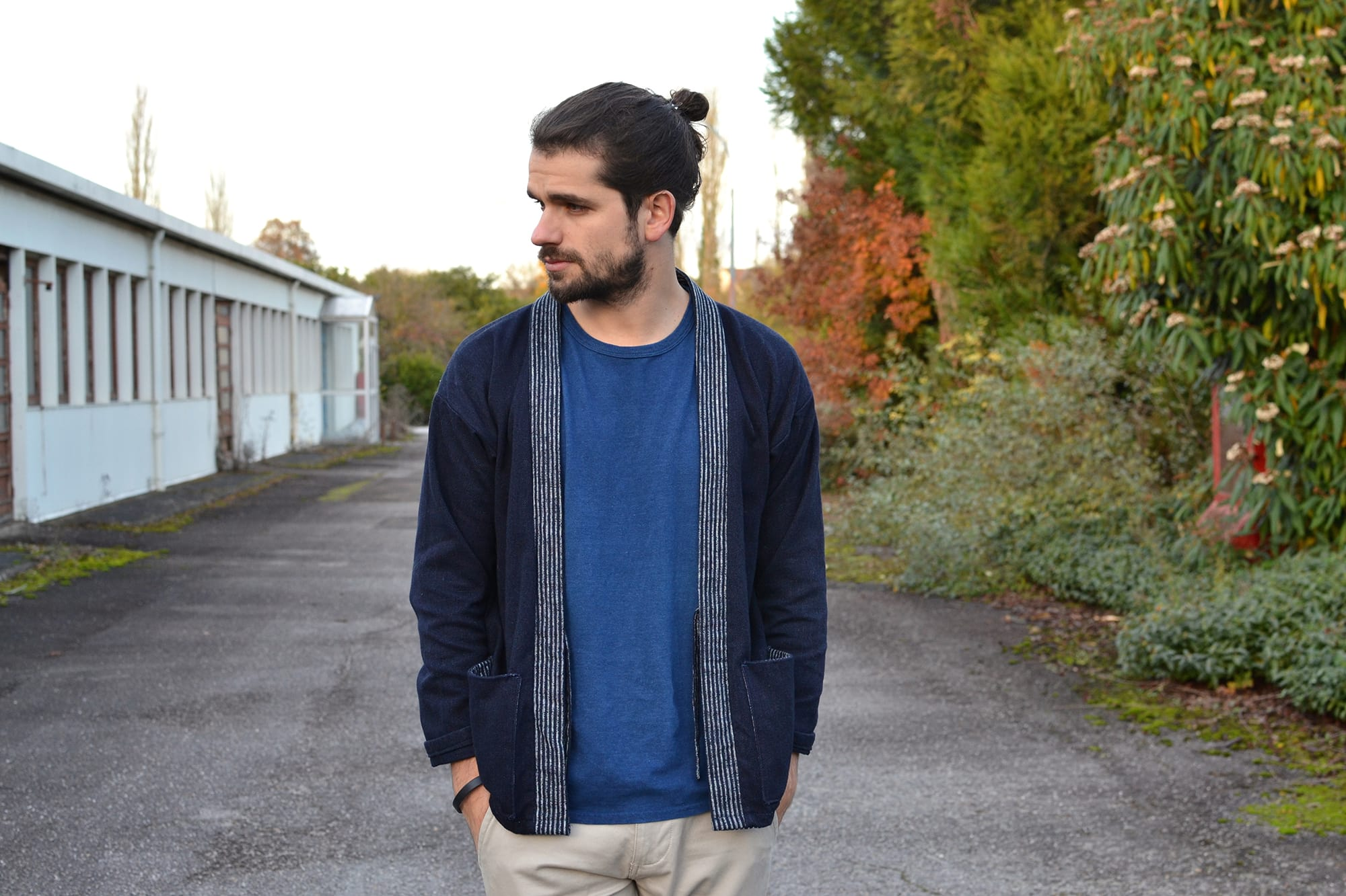 Project noragi - comment porter un kimono pour homme