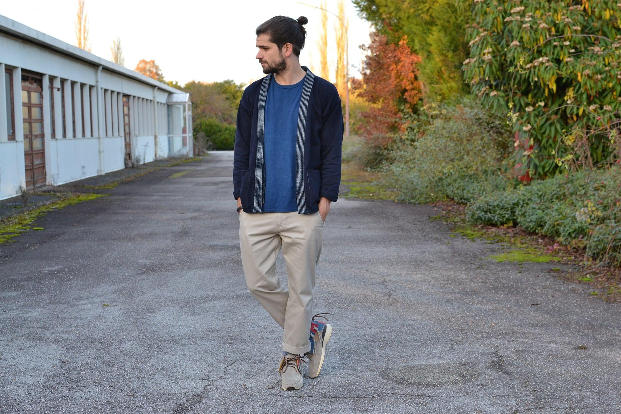 Project noragi - comment porter un kimono pour homme dans le style street heritage