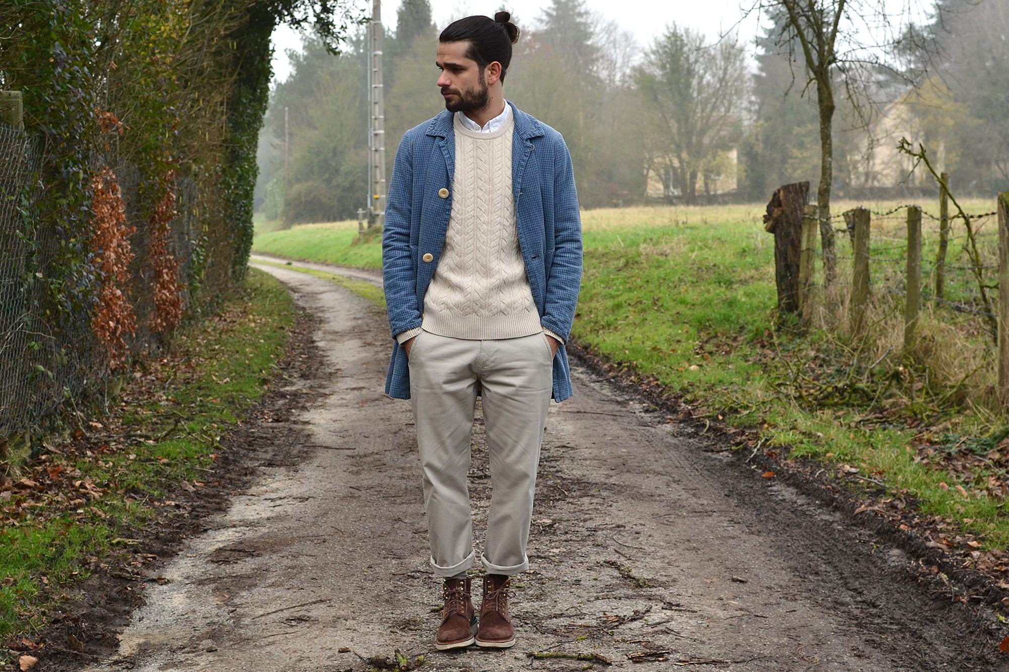 how to wear the visvim mies long coat